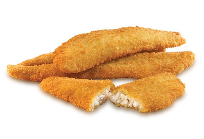 Breaded cod fillets snow white malta meat poultry for How to make breaded fish