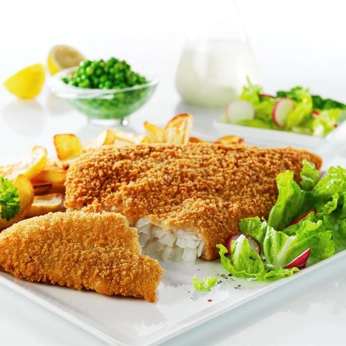 how to deep fry frozen breaded fish fillets
